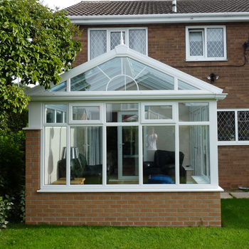 Jade Conservatories Gable Fronted Style Conservatories